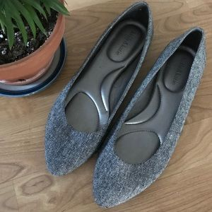 Size11 Kelly & Kate Dark Heathered Grey Flats